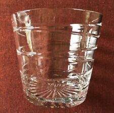 """Rosenthal ~ Rare / Retired ~ """"Recoil"""" Crystal Ice Bucket ~ Germany ~ Mint"""