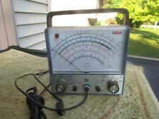 Rca Vintage Senior Voltohmyst Multimeter Wv 98c Does Power Up 6x7x4