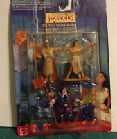 MATTEL1994 Disney Juguetes Pocahontas 3X Figura Pack Mini Figura-Nuevo  ver foto