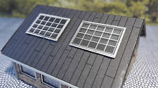 6 Solarmodule für vorhanden Häuser | Spur N 1:160 | Lasercut Bausatz