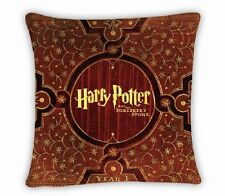 """Harry Potter Pillow Cover 15-1/2"""" x 15-1/2"""" Sorcerer's Stone Polyester-Satin"""