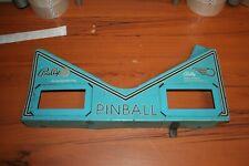Bally Silverball Mania Original Pinball Machine Apron (SEE PHOTOS)