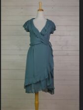 QUIRKY CHIFFON DRESS  BY  BOHEMIA OF SWEDEN. RRP £65 S OR L