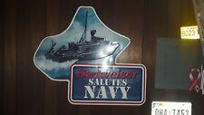 Budweiser Salutes Navy Sign Uss Pegasus (Phm-1)
