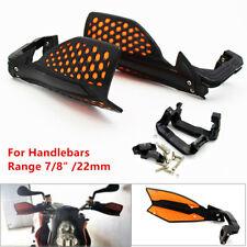 "22 mm 7/8"" Handlebar Motorcycle Scooter Hand Guard Wind Deflector Protector Kit"