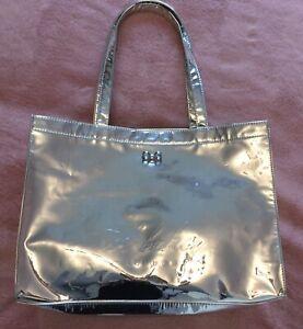 Ted Baker Ladies Silver Shopper/Beach Bag Good Condition
