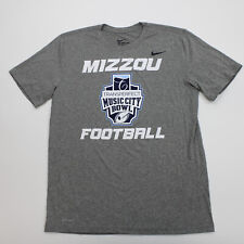 Missouri Tigers Nike Dri-Fit Short Sleeve Shirt Men's Gray New with Tags