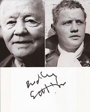 THE LEATHER BOYS: DUDLEY SUTTON SIGNED 6x4 WHITECARD+2 UNSIGNED PHOTOS+COA