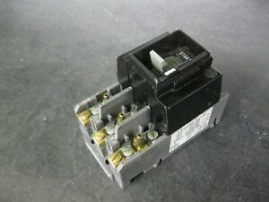 Allen Bradley 609T-AOW 3 Pole 5 hp Manual Motor Starter Switch Size 0 Series F