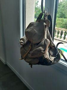Ancien sac à dos LAFUMA vintage montagne alpinisme scout randonnée militaria