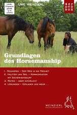 Weinzierl Horsemanship - 4er DVD Box - Roundpen, Halfter, Seil, Reiten, Verladen