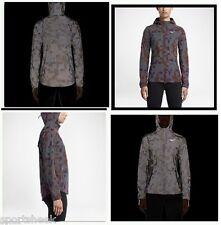Nike Women's Shield Flash Max 3M Running Jacket MEDIUM Vivid Purple 686977-011
