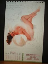 Ted Withers Pinup Calendar Page January 1959 Mexico Believes Fun And Relaxation