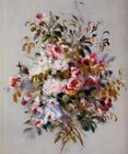 A Bouquet of Roses by Pierre Auguste Renoir Art Print Canvas Wall Art Small 8x10