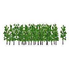 10pcs Model Green Trees Model Train Park Road Trees for N Z Scale Scenery