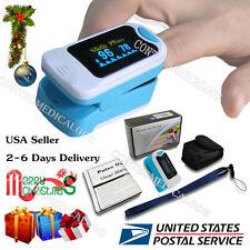 OLED Fingertip Finger Pulse oximeter oxymetre SpO2 PR Blood Oxygen meter monitor