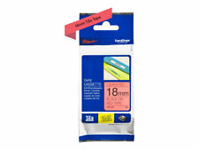 Brother TZe-441 Standard adhesive black on red Roll (1.8 cm x 8 m) 1 TZE441