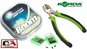 Korda Boom Stiff Hooklink, Krimp Tool & Krimps New Korda + Other Korda Items