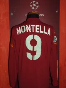 MONTELLA ROMA 2004/2005 SHIRT MAGLIA CALCIO FOOTBALL SOCCER CAMISETA MAILLOT