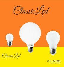 Lampadina a Filamento LED DA 9W 7W 4W  E27 E14 Vintage GLOBO SFERA GOCCIA