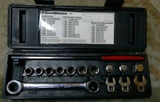 GearWrench 15-Piece Ratcheting Wrench Serpentine Belt Tool Set 3680
