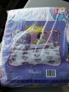 Brand new Disney Classics Princess Blanket twin or full bed