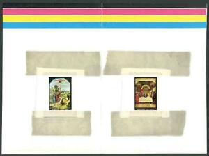 Anguilla 1969 Easter Paintings COMPOSITE PROOF SHEET