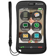 NEW BINATONE SM800 TOUCH SCREEN BIG BUTTON SIM FREE UNLOCKED BASIC MOBILE PHONE