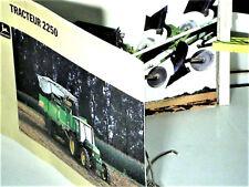 BEAU CATALOGUE TRACTEUR AGRICOLE JOHN DEERE 2250 : 1987