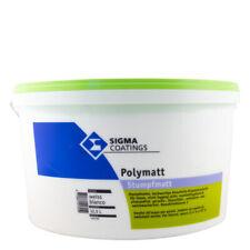 (6,40€/ L)Sigma Polymatt 12,5L weiß, Einschicht-Dispersionsfarbe