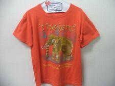 Thai Elephants Print T-Shirt size L