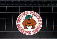 United States Marine Corps Bulldog decal sticker usmc marines devil dog military