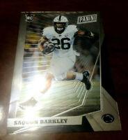 Saquon Barkley Rookie RC 2018 Panini National Gold Packs # 88 Prizm N.Y. Giants