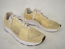 Puma Hussein Chalayan Shoes Haast Gold Perforated Sneakers 10 Mens 353122 01