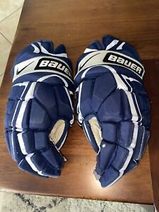 Nike Bauer vapor xxxx Pro 15 Inch Navy Ice hockey gloves Florida Panthers Stock