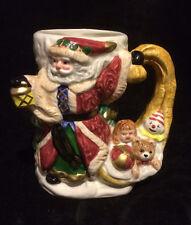 Fitz Floyd Renaissance Santa Mug 1994