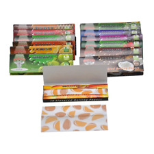 NEW! 10 Packs   HORNET   1 1/4th Flavored Rolling Papers USA Seller
