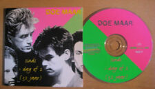 DOE MAAR Sinds 1 dag of 2 ( 32 jaar ) 2-track CDS Card sleeve