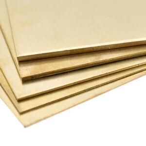 Messingplatte Messingblech Quadrat Basteln 100/150mm Zubehör Handarbeit