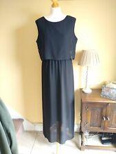 Size 14-16 Black Summer Maxi Dress
