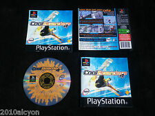 JEU Sony PLAYSTATION PS1 / PS2 : COOL BOARDERS 4 (Snowboard COMPLET envoi suivi)