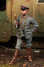 1/35 WW1 Kit Modellino in resina figura tedesco SERBATOIO Officer (1) Figura di alta qualità