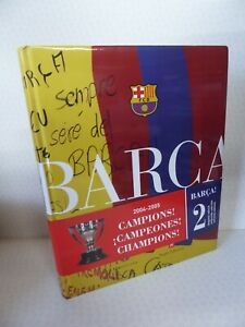 Barça! Champions 2004 - 2005 FCB (Catalan) Hardcover Jordi Finestres Martínez