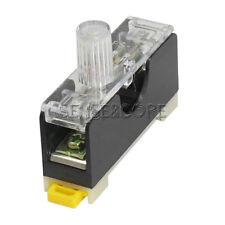 2x soporte de copia de seguridad con tapón de rosca para 5x20 mm con terminales Fuse Holder