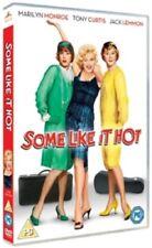 Some Like It Hot 5039036053563 With Marilyn Monroe DVD Region 2