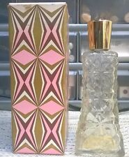 Vintage Avon Dew Kiss Under-Makeup Moisturizer Vanity Decanter With Box Empty