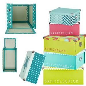 Aufbewahrungsbox mit Deckel Pappkarton 40x30x17 Schachtel Kiste Regal-Boxen groß
