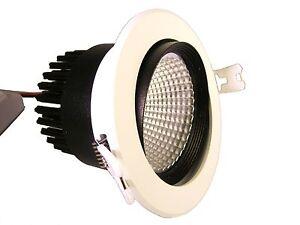 Budget Pack 6x SHARP LED 12W DOWNLIGHT SPOTLIGHT 750 Lm NW 4000K 92mm cutout