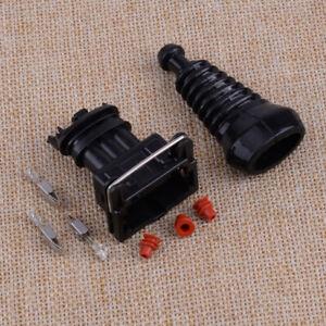 3 Pin EV1 TPS IAC Connector Plug Kit Set Fit for VW Audi Porsche Volvo BMW ds