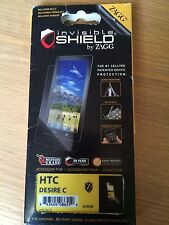 HTC Desire C, Screen Protector Zagg Invisible Shield